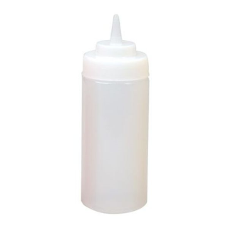 Squeeze Bottle 472ml Translucent - White - Squeeze White.png