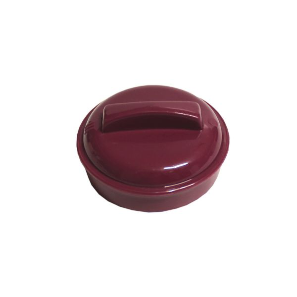 Insulated Beverage Pourer Lid Burgundy