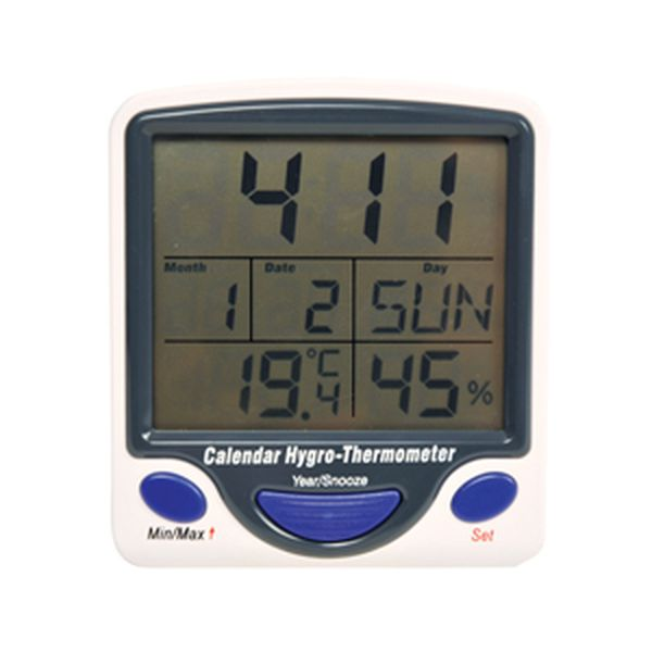 Hygro-Thermometer with Alarm - 49704.jpg
