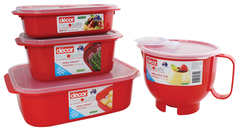 Microwave Storage Containers