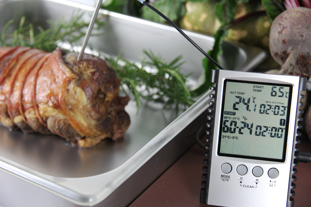 Food thermometers designed to protect against food safety problems in every part of the kitchen