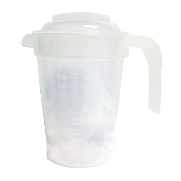 Graduated Jug - 1 Litre (clear)