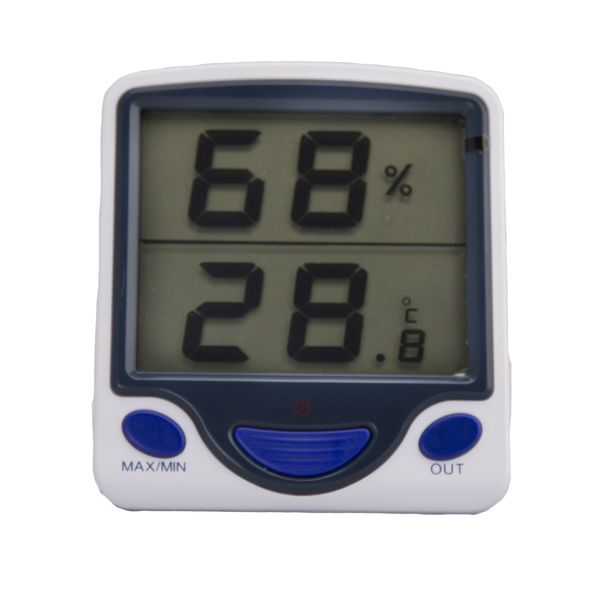 Digital Hygro-Thermometer Wall Mount