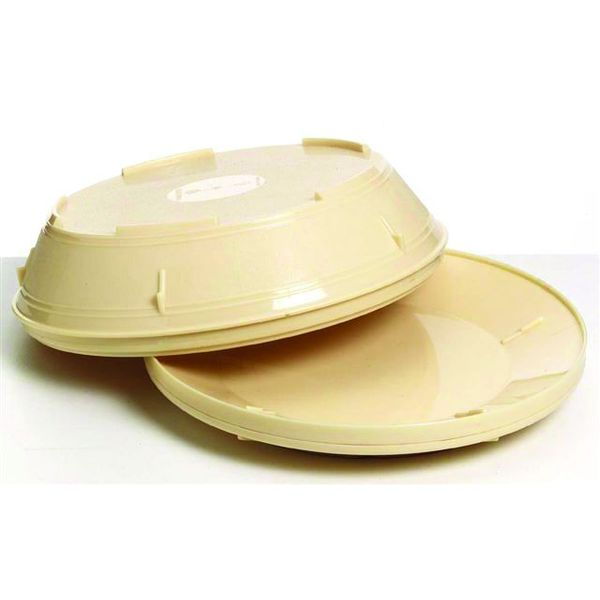 Insulated Plate Cover 230mm - Yellow