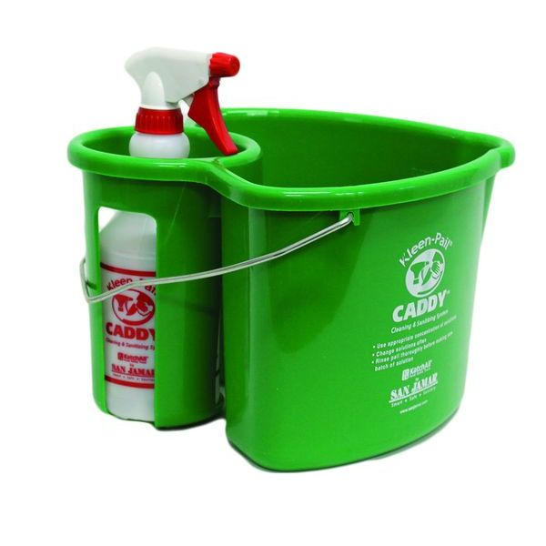Kleen Pail Caddy and Spray Bottle