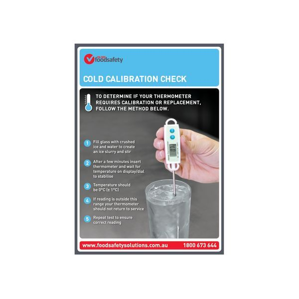 Cold Calibration Check Poster