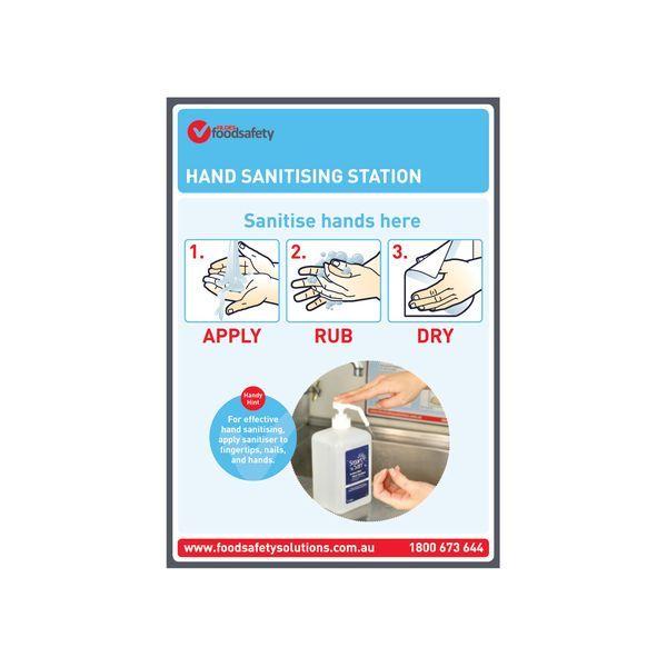 Hand Sanitising Station Poster