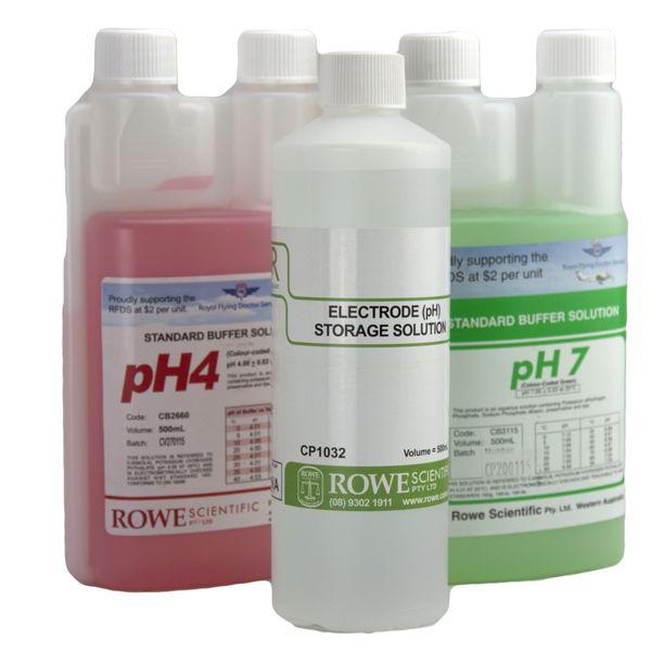 pH Meter Calibration Kit